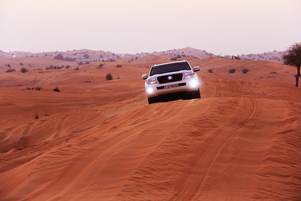 Renting a car is the best way to travel around Oman.