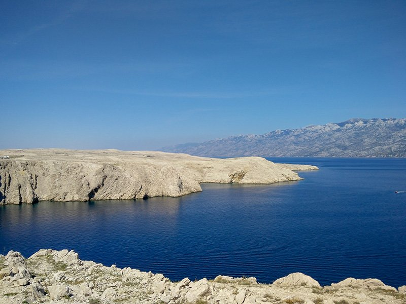 Pag Island in Croatia is one of the best unknown places to visit in Europe.