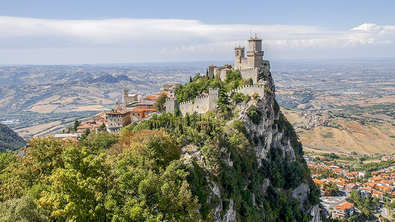 Located on the eastern coast of the Italian Peninsula, San Marino is one of the best hidden gems and most unique places in Europe.