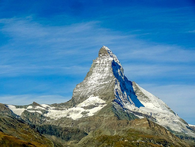 Matterhorn in Zermatt, Switzerland, is one of the best-kept secrets and hidden gems in Europe.