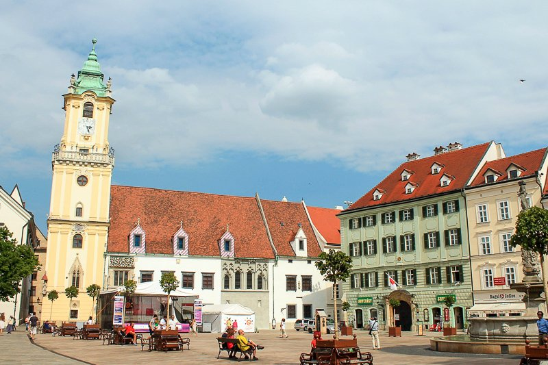 Bratislava is one of the cheapest and most impressive cities in Europe