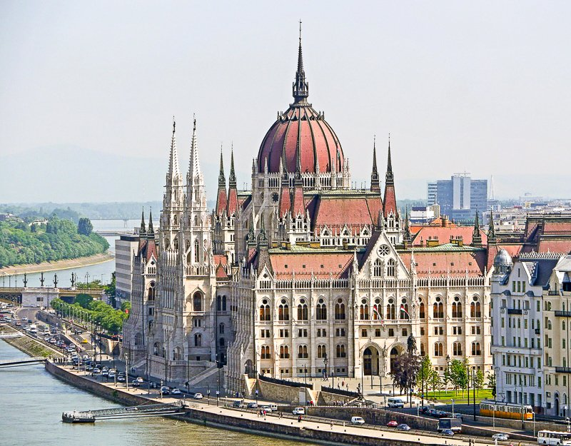 The Hungarian Parliament Building is one of the most iconic sights in Budapest, which is among the cheapest places to visit in Europe.