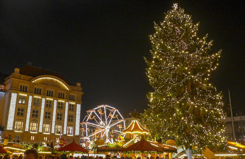 Dresden is a sought-after destination for its Christmas Markets