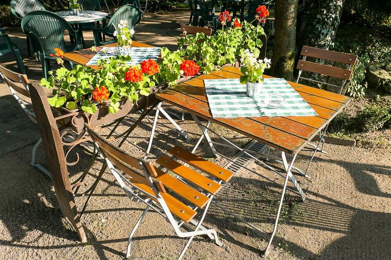 "Beer gardens or ""drinking gardens"" provide a lively alfresco scene in Bucharest"
