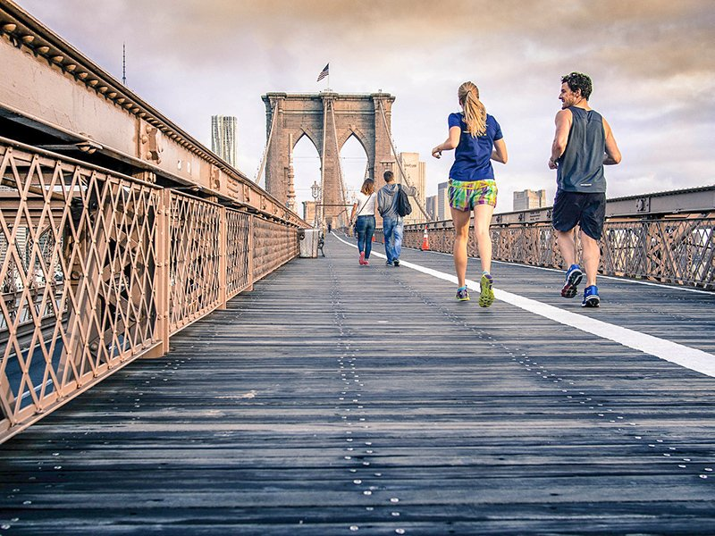 One of the best travel hacks for flying is getting exercise before your flight. This has a wonderful impact on your mood