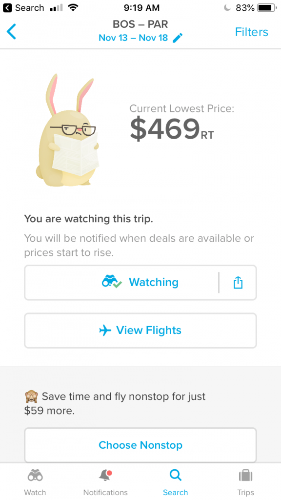 Hopper is one of the best travel hacks for flying - novice and seasoned travelers