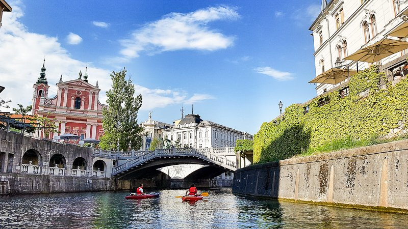 Ljubljana is among the cheapest and most underrated cities to visit in Europe
