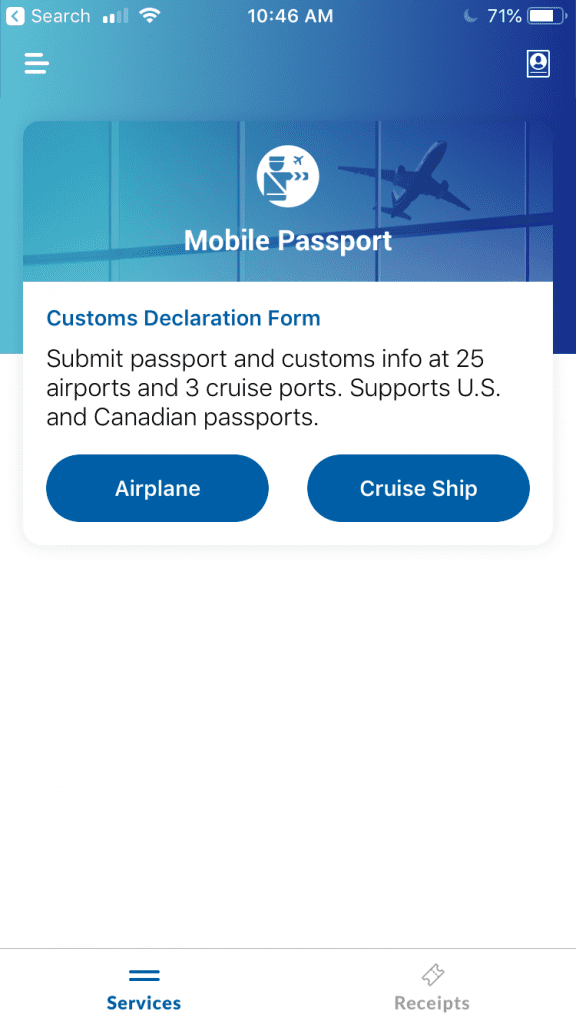 Using Mobile Passport is one of the best travel hacks for flying