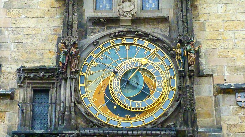 The Prague Astronomical Clock is the oldest still in use today