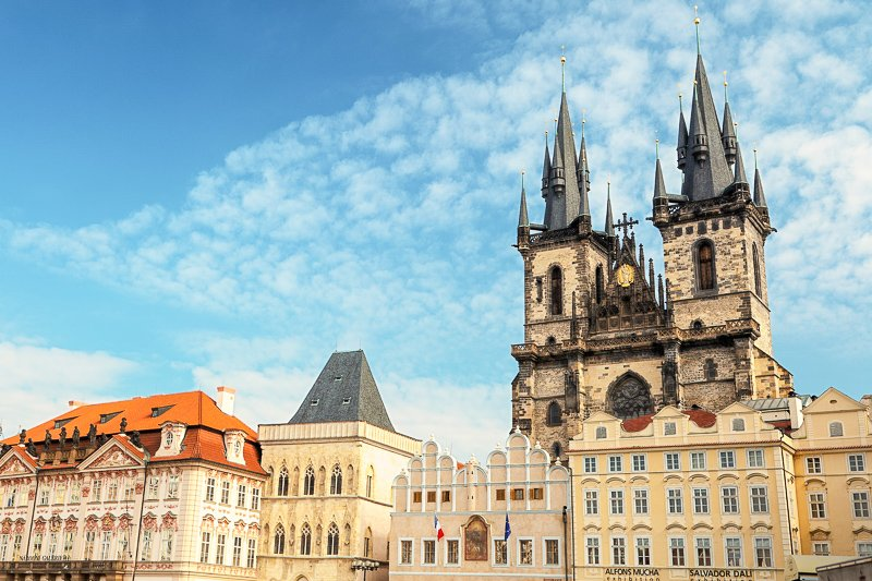 Prague's Old Town Square is the top attraction in town. It's steeped in over 1,000 years of history and one of the cheapest cities in Europe
