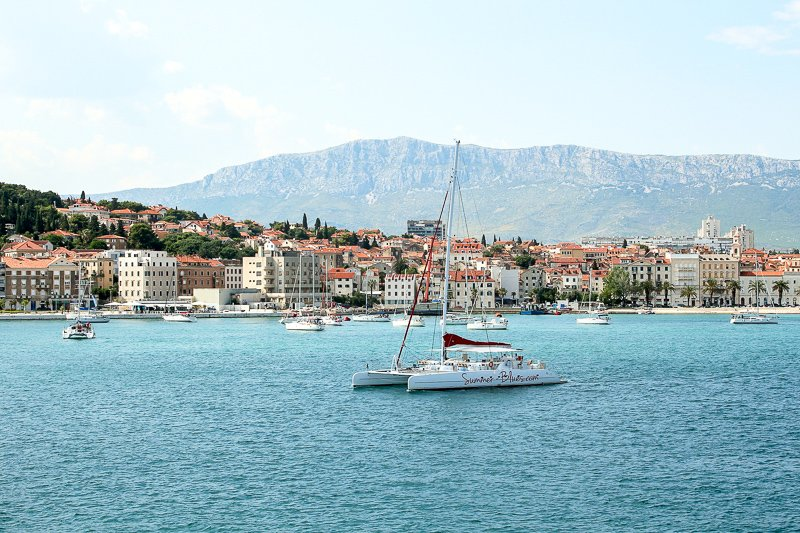Split is known for its amazing Adriatic seafood