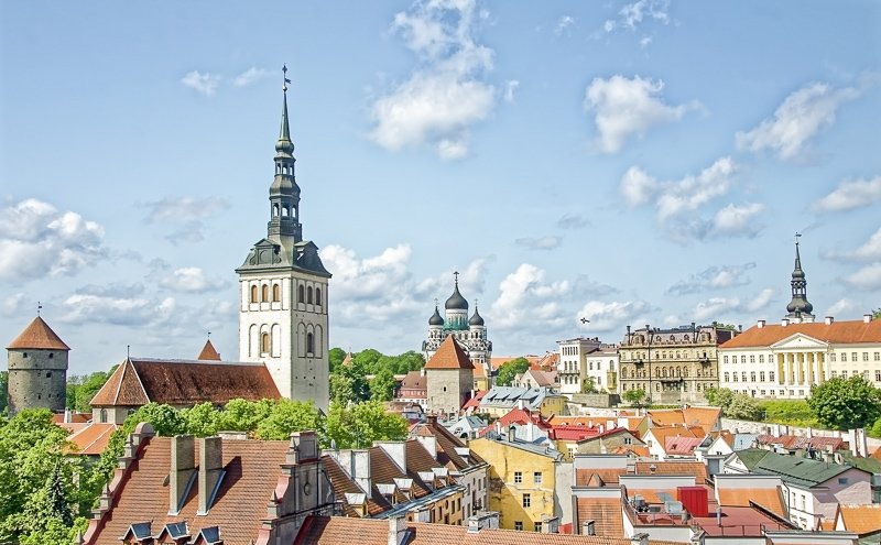 Tallinn, Estonia is one of the cheapest cities in Europe