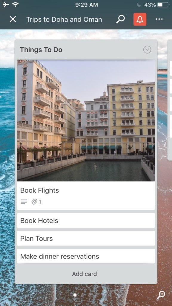 Trello is one of the best apps for iphone and android