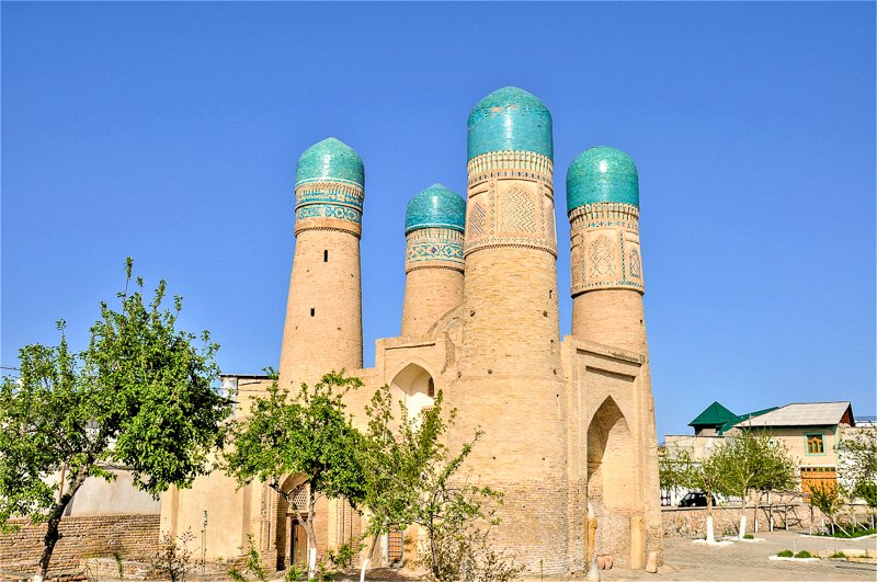 Bukhara is a historic city in Uzbekistan, and is one of the top UNESCO World Heritage Sites.