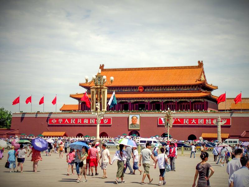 The Forbidden City in Beijing is one of the best UNESCO World Heritage Sites.