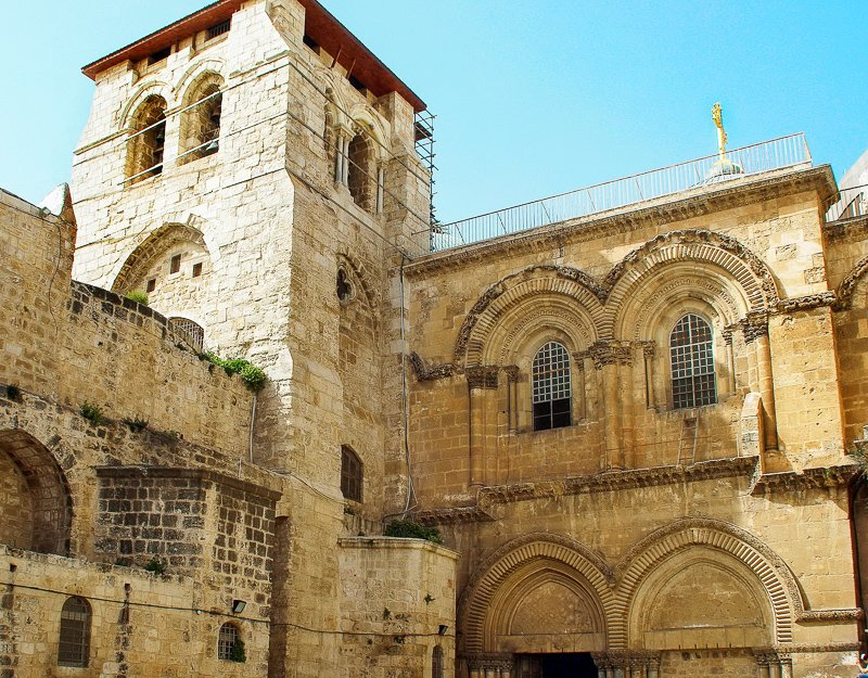 Built in 326 A.D., the Church of the Holy Sepulchre contains Jesus Christ's tomb.