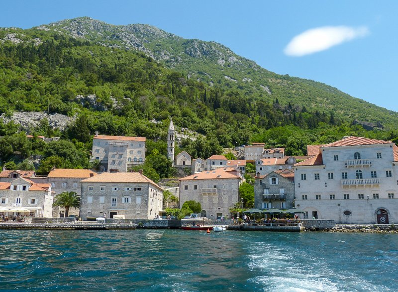 Perast Montenegro Mountains