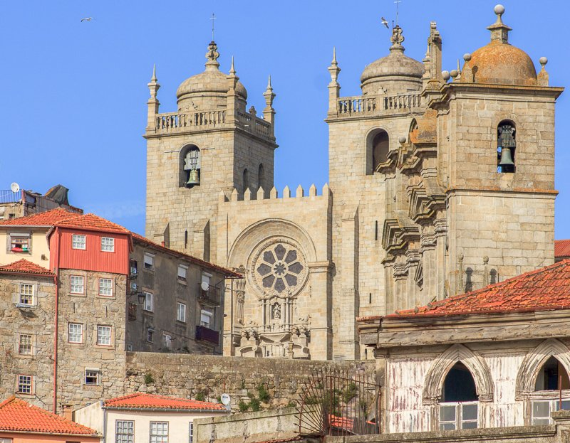 Porto Cathedral and old town
