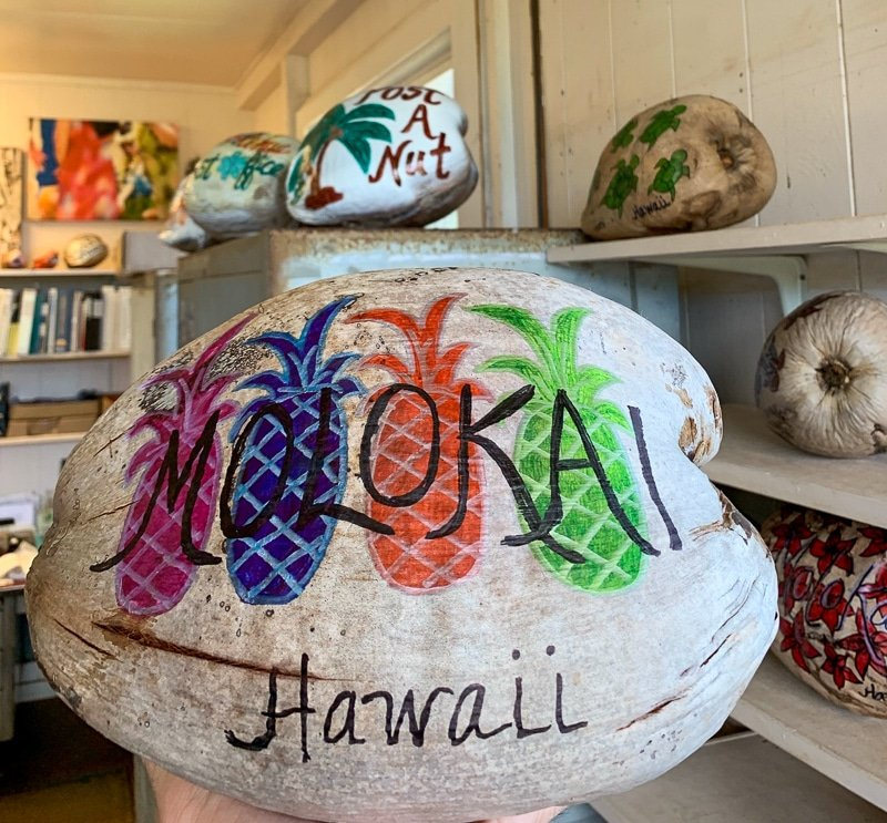 Post-A-Nut is undoubtedly one of the top highlights in Molokai, Hawaii.
