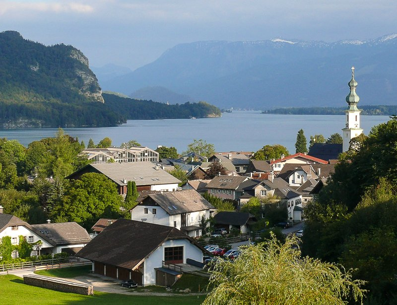 St. Gilgen in Austria is among the most underrated cities in Europe.