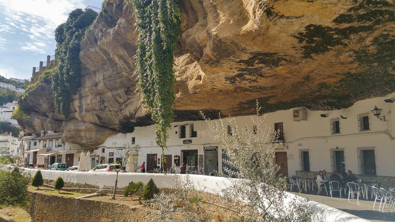 Setenil de las Bodegas in Spain