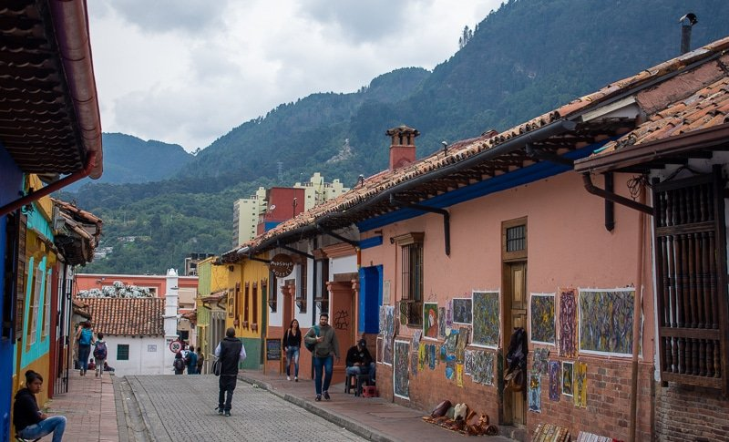 Bogotá has come a long way in the few short years since the civil war. It's much safer for tourists now, but you'll still want to be aware of your surroundings.