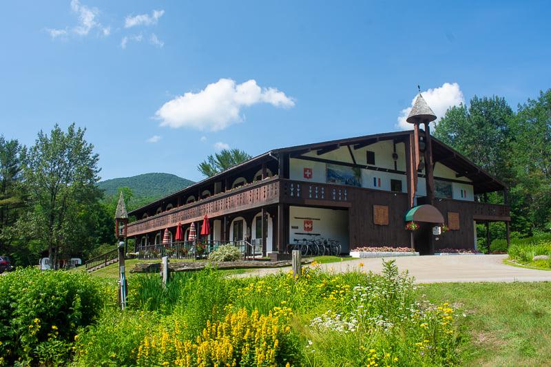 Innsbruck Inn in Stowe, Vermont is among the best weekend getaways in New England.