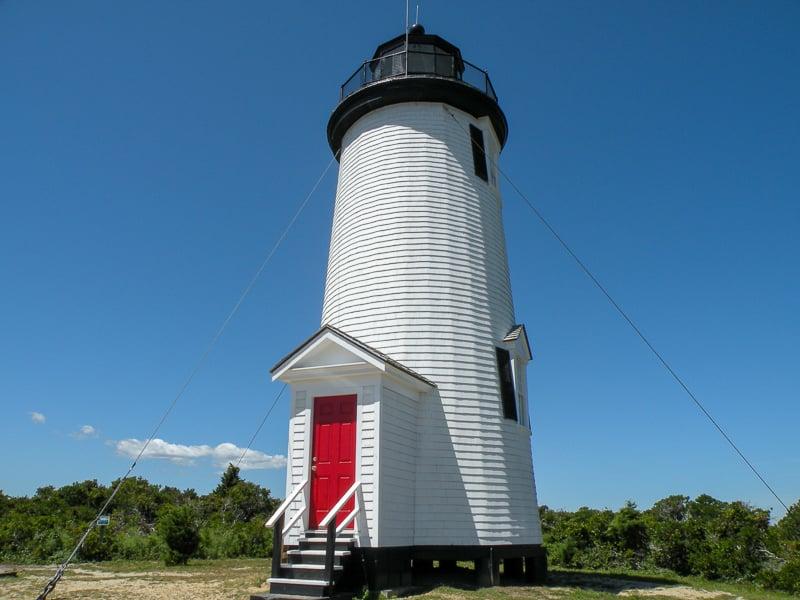Cape Poge Lighthouse on Chappaquiddick Island.