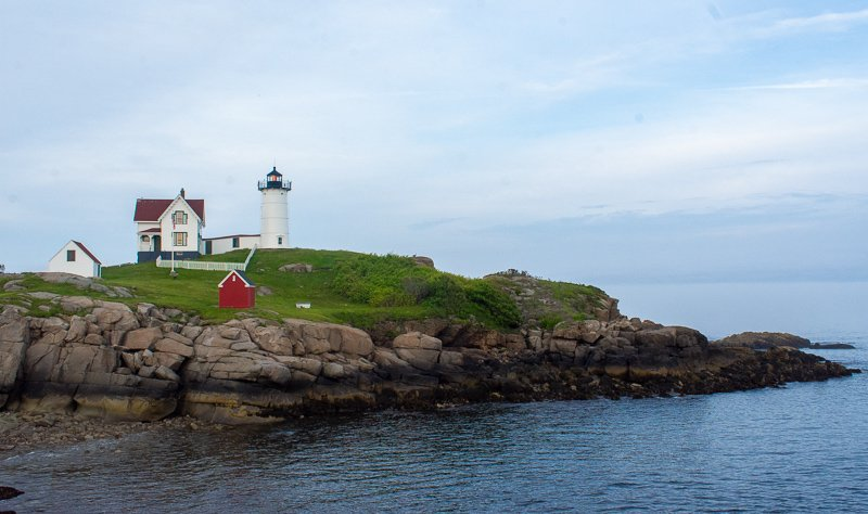 Nubble Lighthouse in all of its glory.