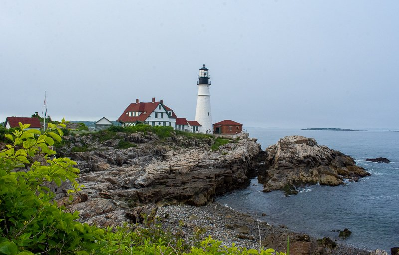 Portland Head is among the most iconic lighthouses and best weekend getaways in New England.