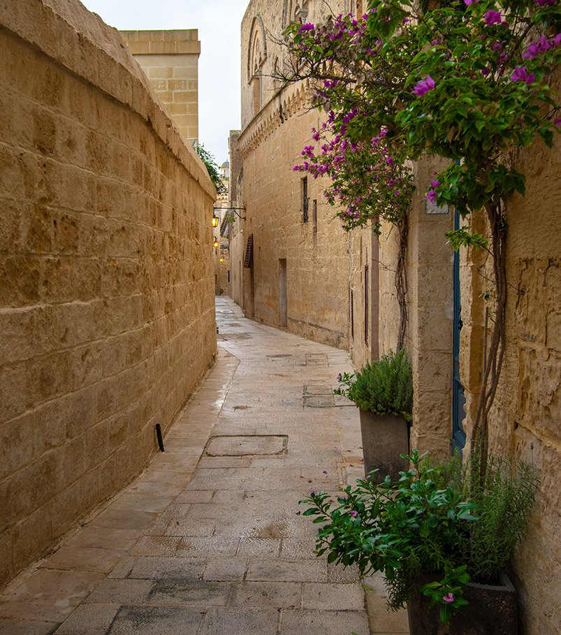 Mdina is one of the most Instagrammable places and best photography spots in Malta.