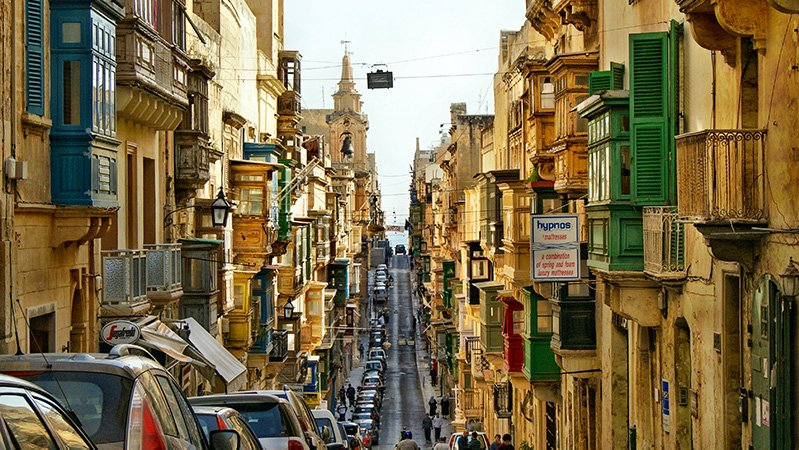 Valletta can easily be traversed in a day. It's one of the best Malta Instagram spots.