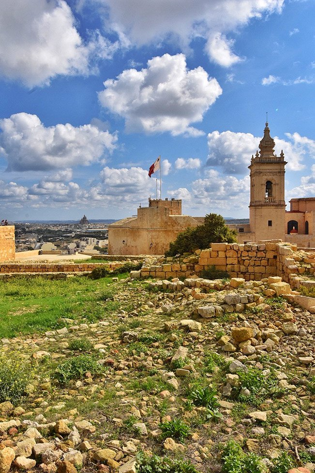 Built in the 15th century, the Citadella has assumed a prominent role in defending Gozo for centuries. This stunning sight is absolutely one of the most Instagrammable places in Malta.