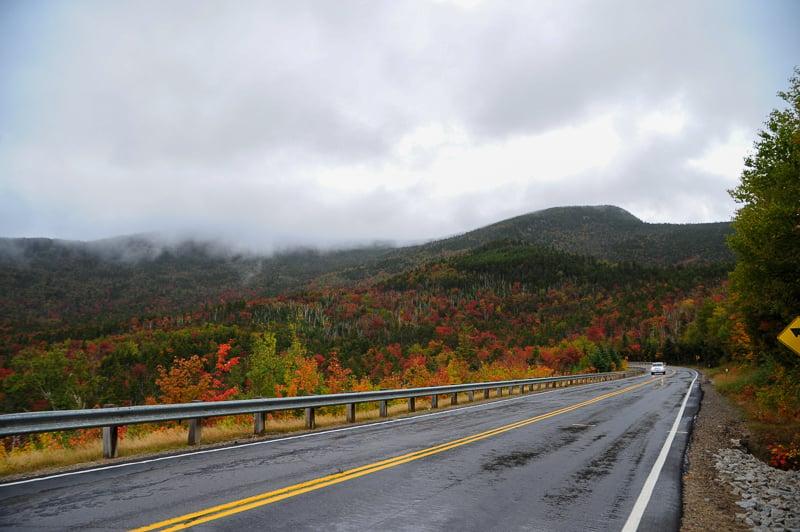 The White Mountains are especially beautiful during the fall foliage season.