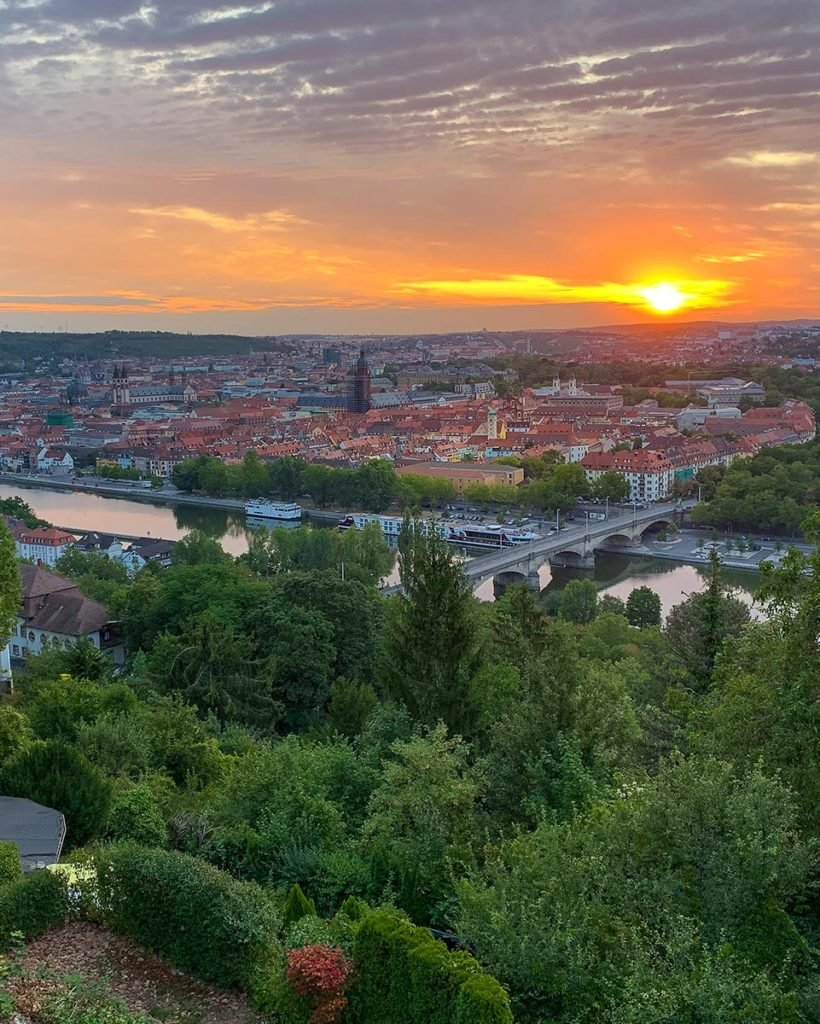 Most beautiful cities in Europe Wurzburg