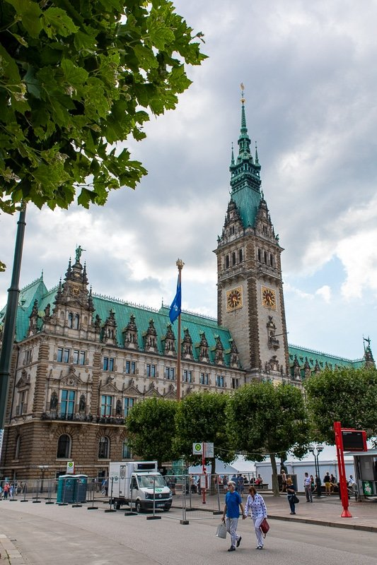The Rathaus is one of the top sights and things to do in Hamburg, Germany.