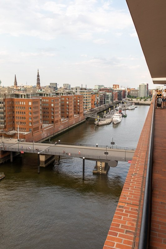 The Elbphilharmonie Plaza is among the top things to see and do in this Hamburg, Germany travel guide.