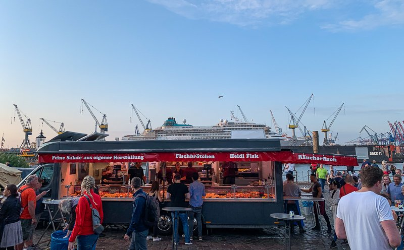 Visiting the Fish Market is one of the top things to see and do in Hamburg.