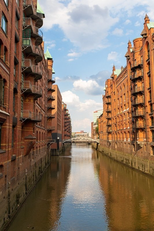 The Speicherstadt is a must-see landmark in the heart of Hamburg.