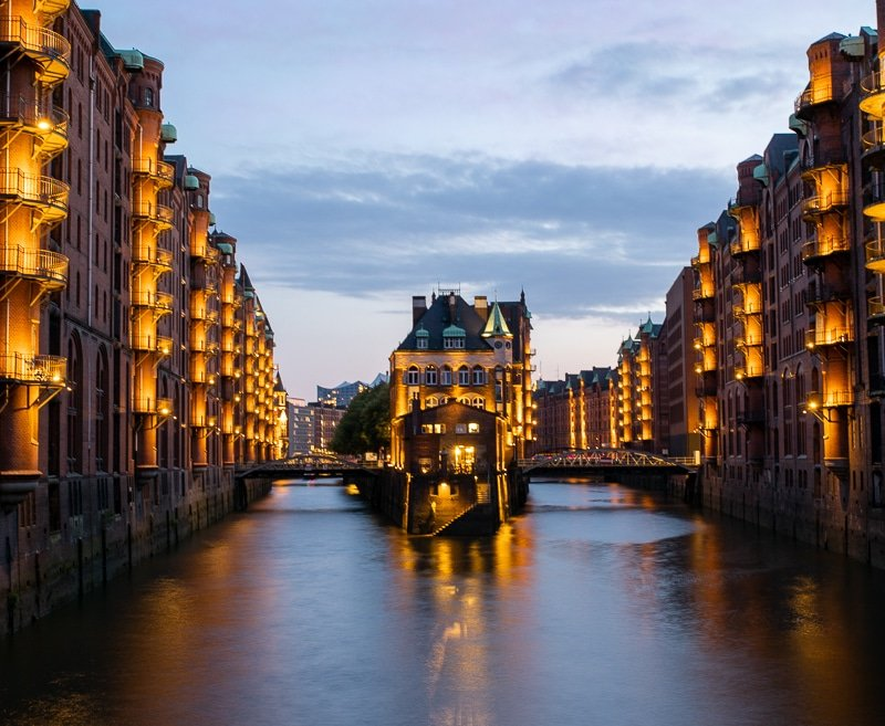 The Speicherstadt in Hamburg is a UNESCO World Heritage Site