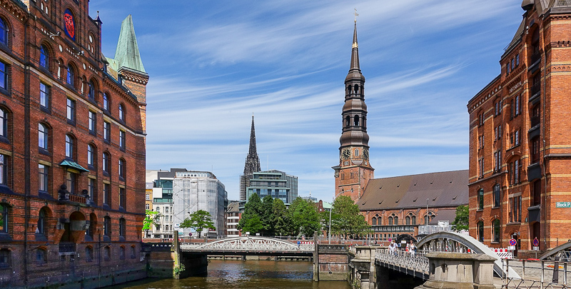 Visiting St. Michael's church is one of the top things to see and do in Hamburg.
