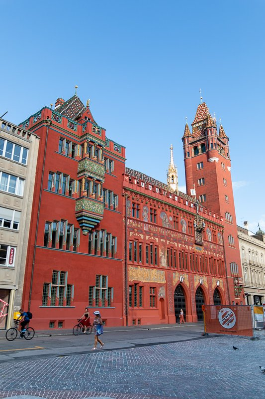 Built in the neo-Gothic and neo-Renaissance styles, the Rathaus dates back to the 16th century. It's one of the top things to see and do in this Basel travel guide.