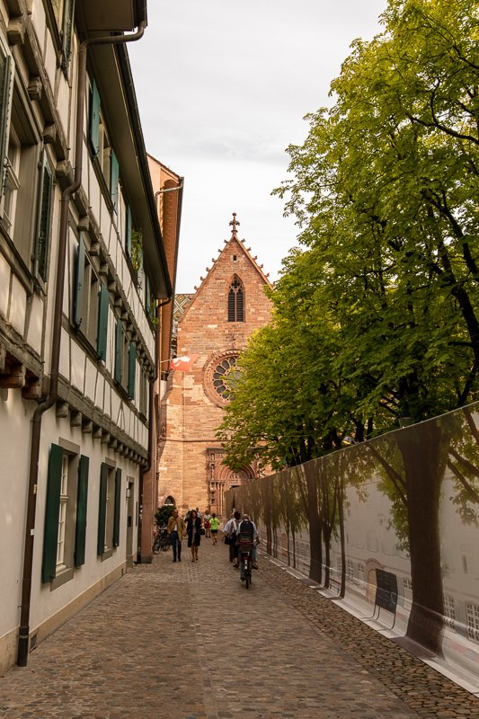 Basel is a picket-sized city, perfect for a weekend getaway.