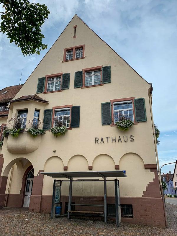 The Rathaus in Binzen.