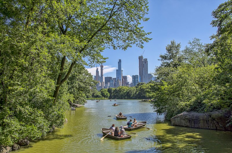 New York City is a great day trip or weekend getaway from Boston.