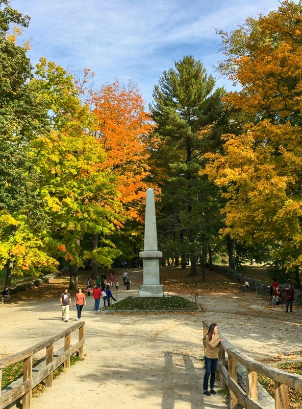 Concord is a wonderful short day trip idea from Boston.