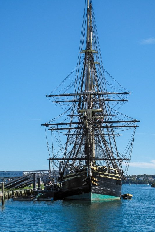 The Friendship of Salem is an iconic ship in Salem, Massachusetts.