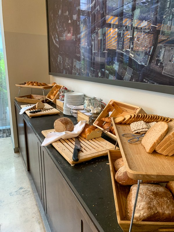 Breakfast is the most important meal of the day at the  Swissôtel Le Plaza Basel.