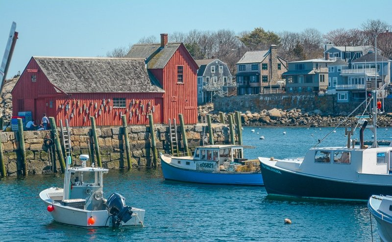 Rockport is one of the best road trips from Boston.