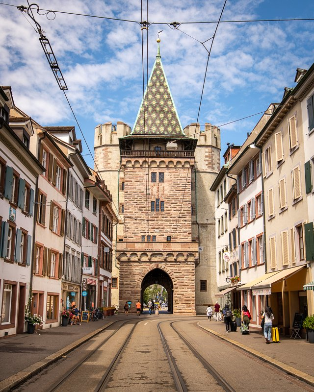 The Spalen Gate and St. Alban's Gate are worthy of a stop when visiting Basel.